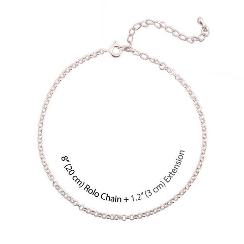 Image of Fancy Print Anklet