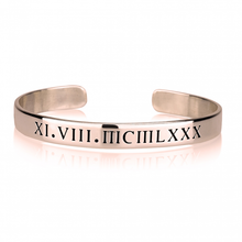 Load image into Gallery viewer, ROMAN NUMERAL CUFF