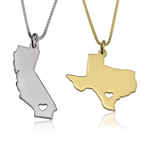 Image of Rep Your State Necklace
