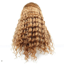 Load image into Gallery viewer, BRAZILIAN REMY Honey Blonde 250% Density Lace Front Human Hair Wigs Color #27