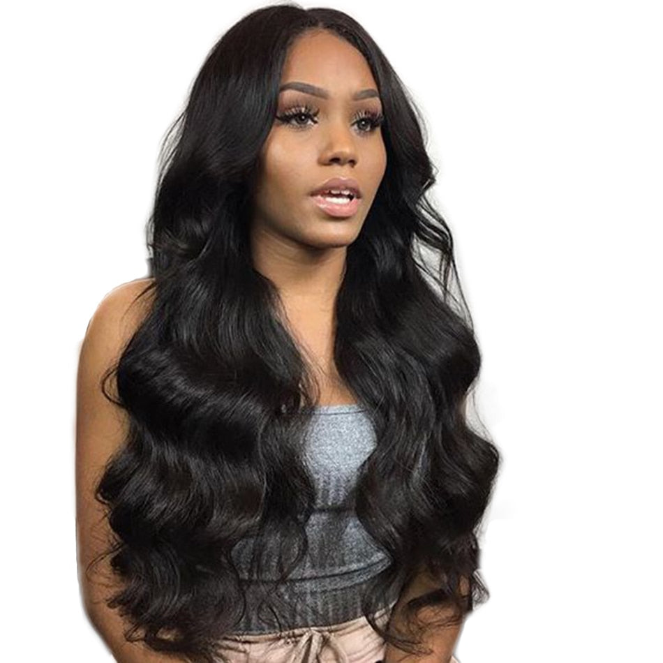 Brazilian Body Wave Lace Front with Baby Hair