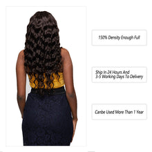Load image into Gallery viewer, Brazilian 150 Density 4*4 Closure Remy #2 Color Loose Deep Wave