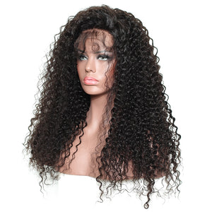 Closure Wig 250 Density Lace Front Human Hair Wig