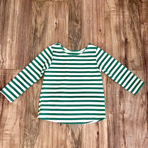 Sailor Shirt Striped Kelly and White