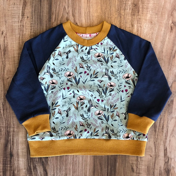 Hummingbird Long Sleeve Top