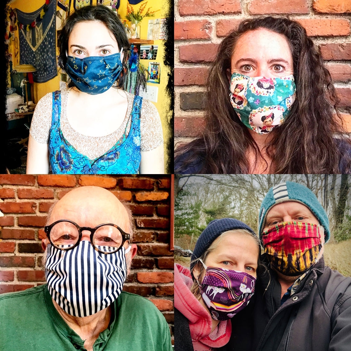 Kookooshka Cape Cod Face Mask - Buy one, Donate one