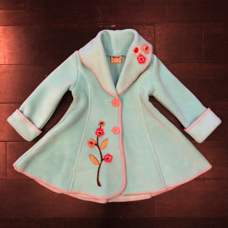 Isadora Swing Coat Mint