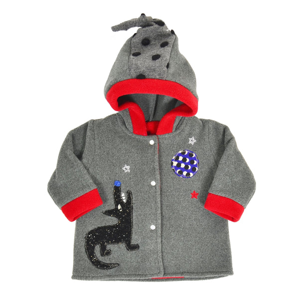 Howling Wolf Fleece Jacket