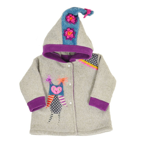 Owl Fleece Jacket