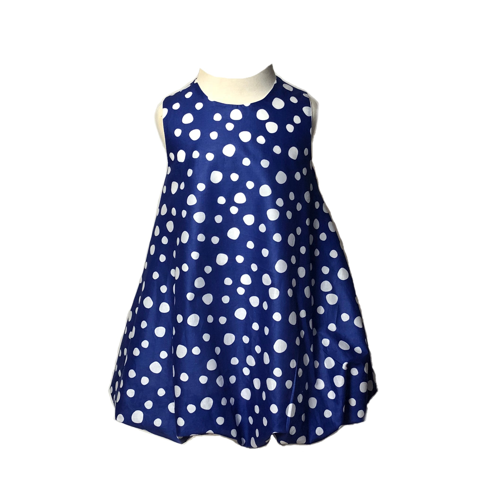 Blue Rain Bubble Dress