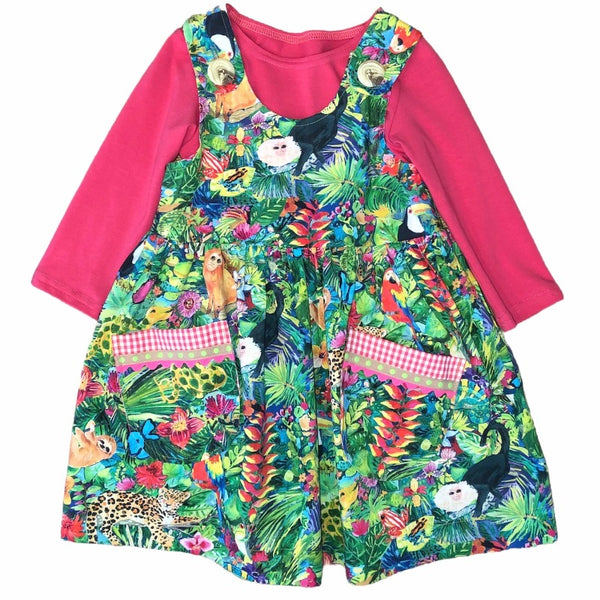 Rain Forest Cotton Jumper and Top Set