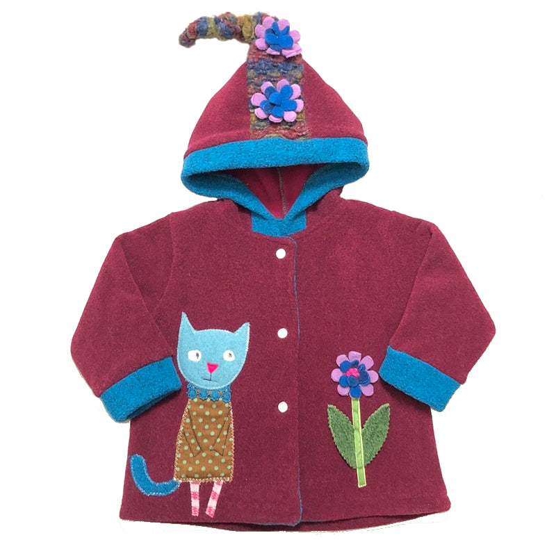 Kitty Coat Mulberry