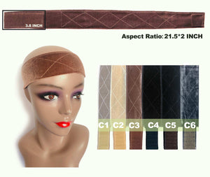 Flexible Velvet Wig Grip Band - 6 colors - Ulahair