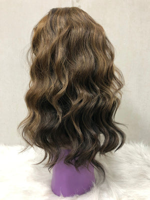 Wavy Lace Front Wig - Mixed Color H4330 - Ulahair