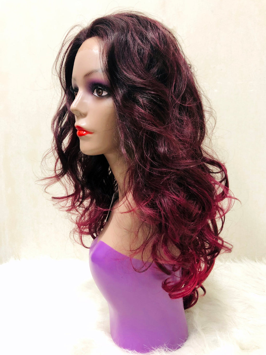 Wavy Lace Front Wig - Tone Color DXT2118 - Ulahair