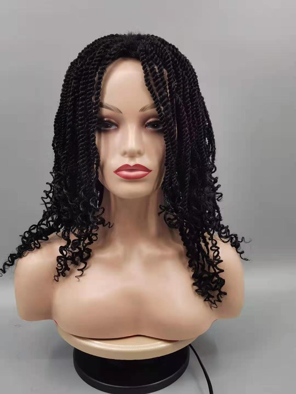 Kindy Twist Curl Ends Lace Wig - Ulahair