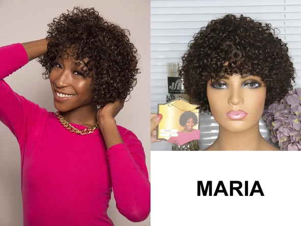 Fashion Curl Human Hair Wig - Ulahair