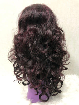 Natural Wavy Lace Front Wig - Single Color RP950/425 - Ulahair