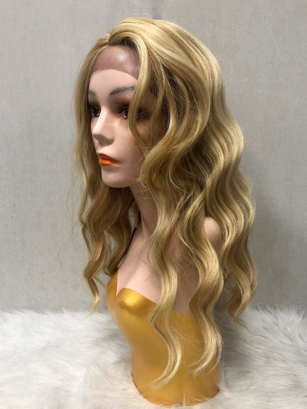 Wavy Lace Front Wig - Single Color CL25 - Ulawig
