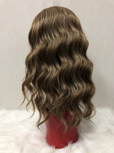 Wavy Lace Front Wig - Mixed Color F3163 - Ulahair