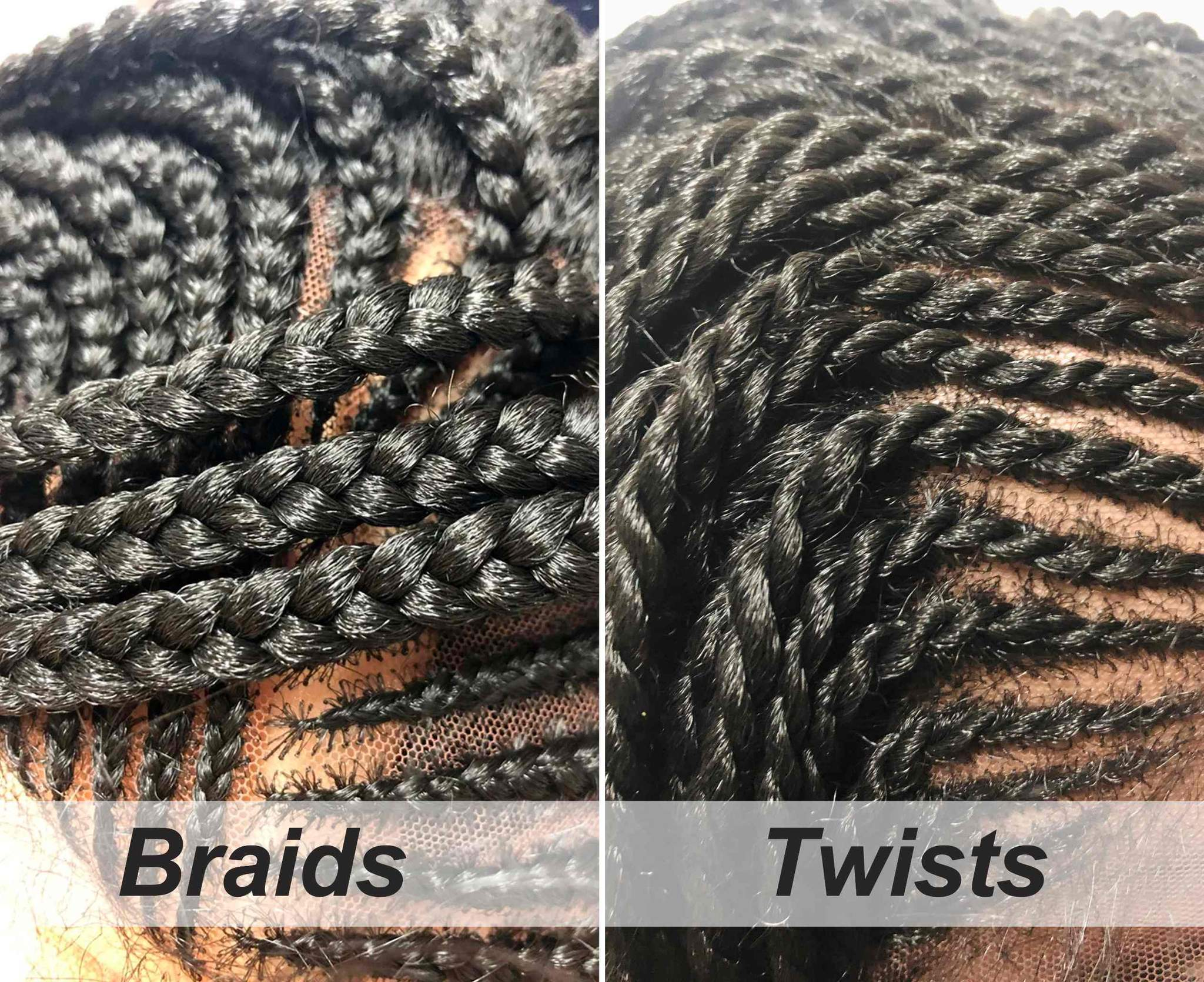 Side Part Cornrow - Twists/Braids Style Braided Lace Wig - Ulawig