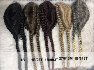 Double Dutch Lace Braid Wigs - Ulawig