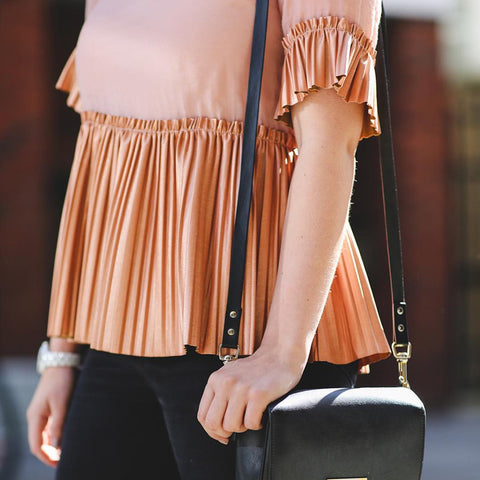 Copper Days Pleat Top
