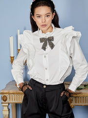 Mary's Reign Ruffle Shirt