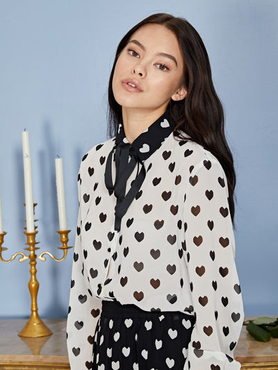 Duchess Bow Blouse