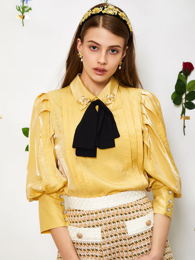Sunshine Bow Blouse