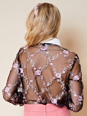Stardom Embroidered Blouse