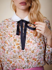 Golden Age Double Collar Blouse