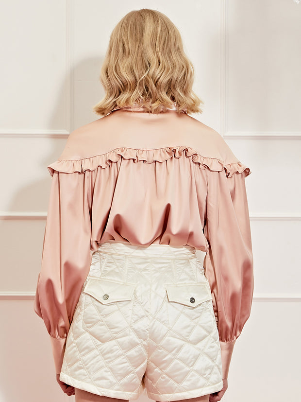 <b>DREAM</b> Steel Magnolia Bow Blouse