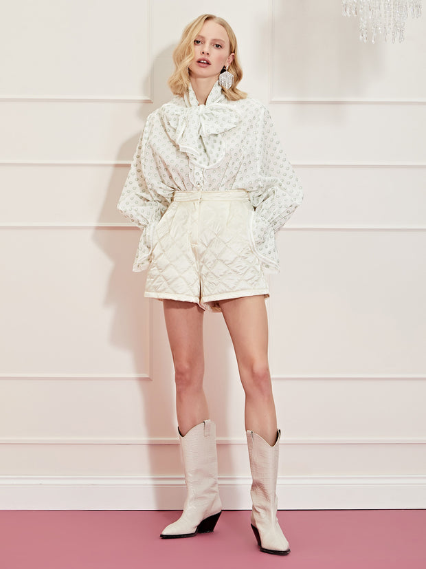 <b>DREAM</b> Ace High Oversized Bow Blouse