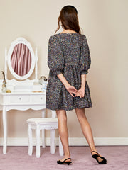 Confetti Tweed Mini Dress