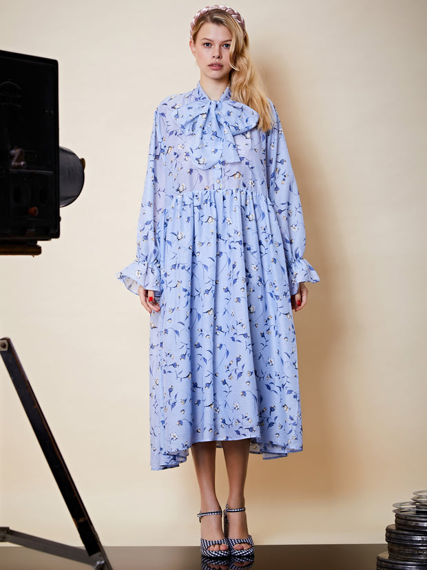 Idol Floral Oversized Maxi Dress