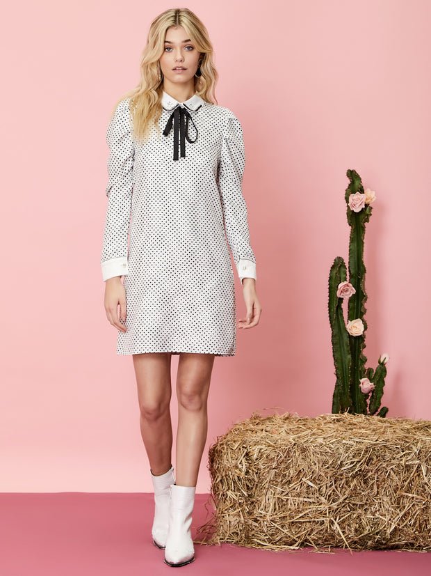 Spots and Stripes Rabbit Dress