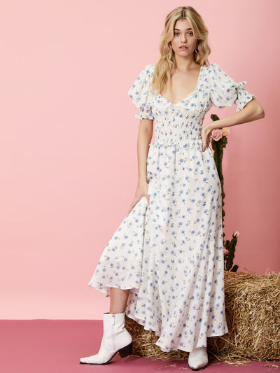 Perennial Floral Maxi Dress