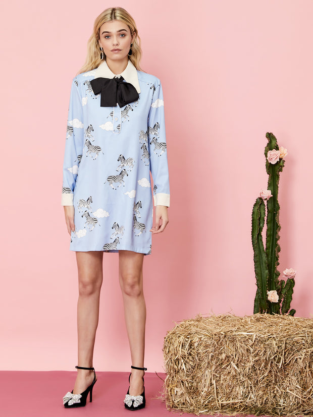 Head in the Clouds Shift Dress