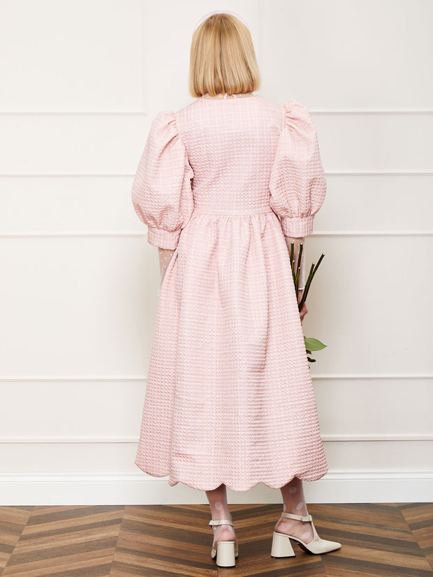 <b>DREAM</b> Rosy Ray Midi Wrap Dress