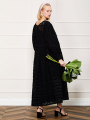 <b>DREAM</b> Prairie Lace Maxi Dress