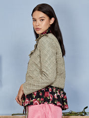 Quilted Quota Cropped Jacket