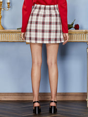 Courtly Check Mini Skirt