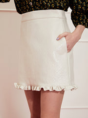 <b>DREAM</b> Knoxville Vinyl Mini Skirt