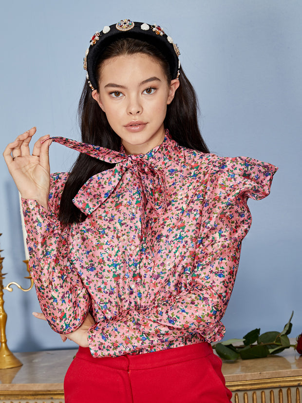 Missy Floral Bow Shirt