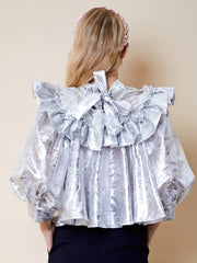 Tinseltown Ruffle Blouse