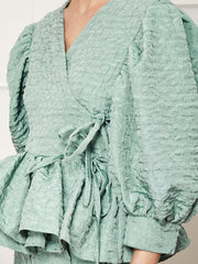 <b>DREAM</b> Dapple Lilly Wrap Top