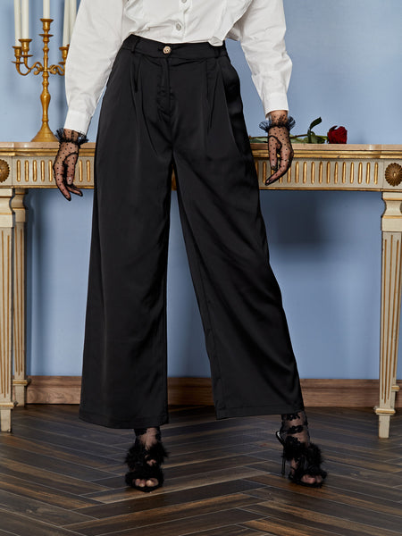 Elizabeth Pleated Trousers