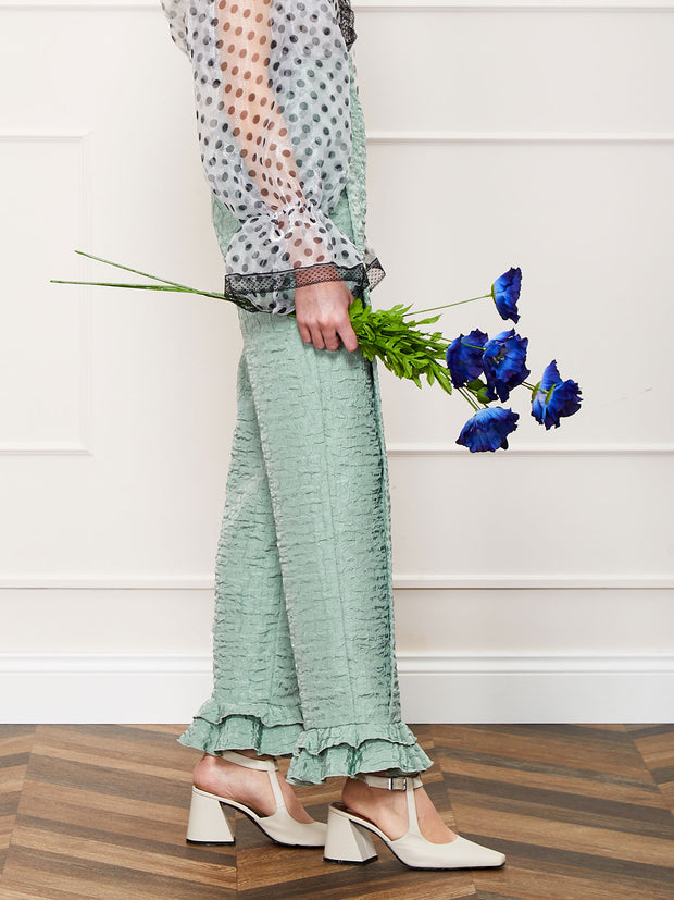 <b>DREAM</b> Dapple Lilly Pleated Trousers