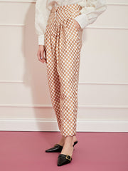 <b>DREAM</b> Round Up Scallop Peg Trousers